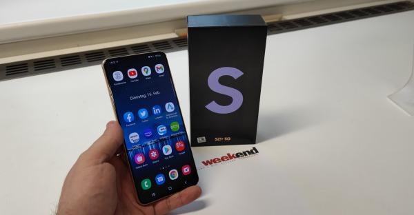Tech-Blog: Samsung Galaxy S21+ 5G im Test