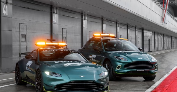 Aston Martin als Safety-Car in der Formel 1
