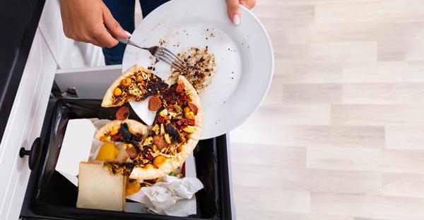 Lebensmittelverschwendung: Vom Teller in die Tonne