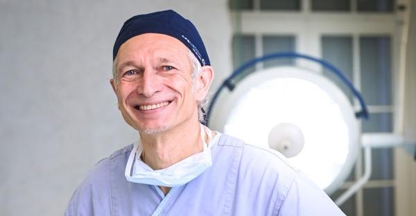 Mit Schönheitssinn: Dr. Martin Rhomberg