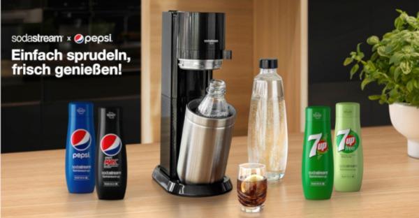 SodaStream DUO inklusive Sirups gewinnen!