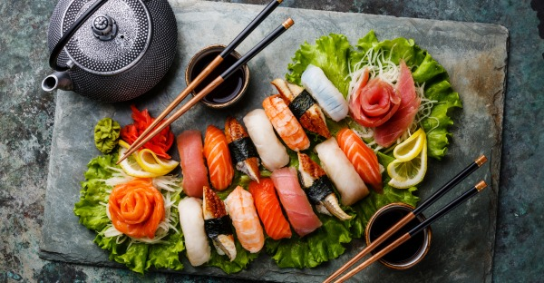 Schritt für Schritt zu alternativen Sushis