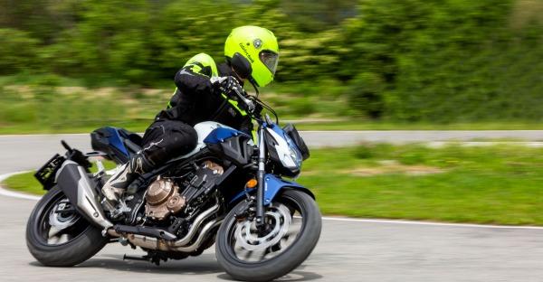 Motorrad: Fahrsicherheit ist Trumpf