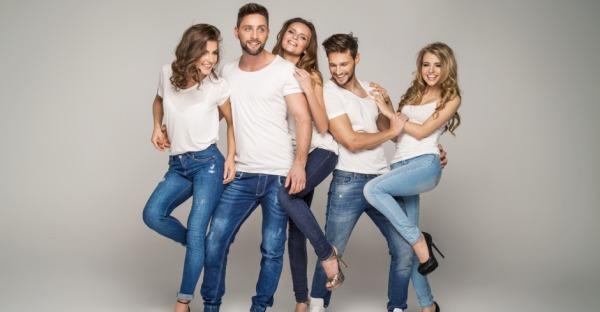 4 Modelle, 4 Stile: Welche Jeans für wen?