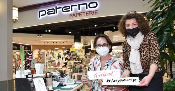 Kalligrafische Schreibvorführung bei Paterno