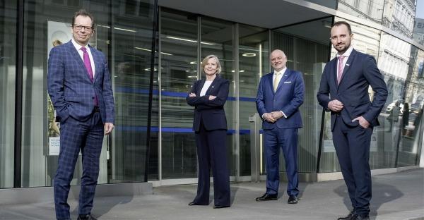 Neues Vorstandsteam bei der VKB-Bank