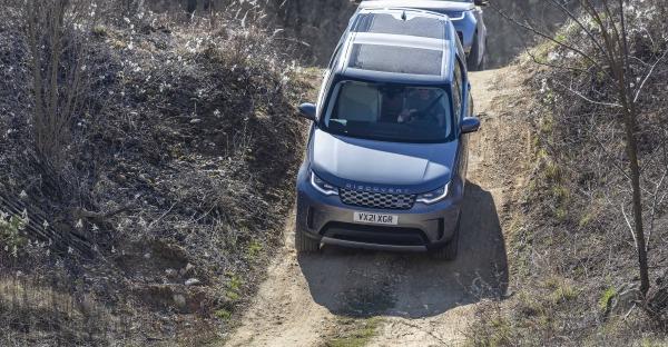 Kurz-Test: Land Rover Discovery - der WILD-HYBRID