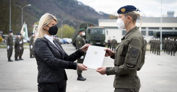 Bundesheer: Grazerin wird erste Regimentskommandantin