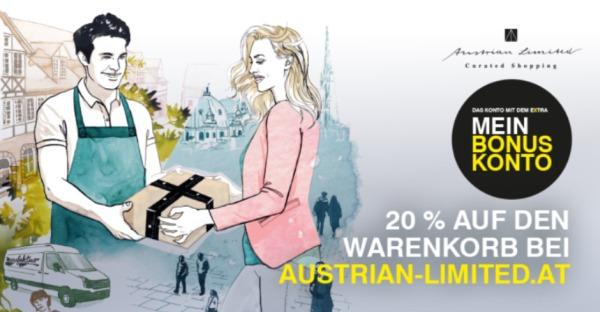 Austrian Limited kooperiert mit der Raiffeisenbank
