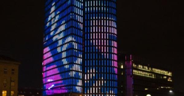 Uniqa-Tower: Werben für Werte
