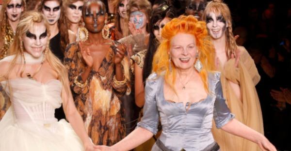 Punk- und Modeikone: Stars in Vivienne Westwood