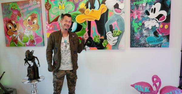 Mario Stroitz erobert mit Kärntner Pop-Art die Kunstwelt