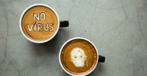 Kaffee & Corona: Ober macht Gratistest