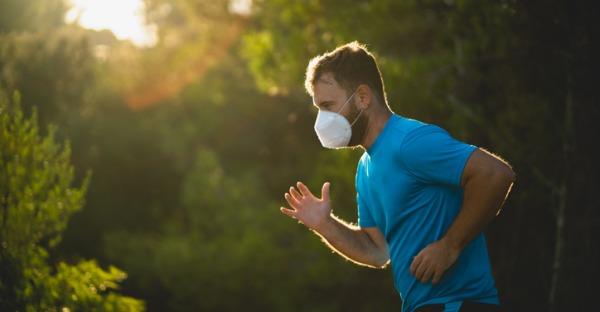 Aufreger: FFP2-Maske im Freien