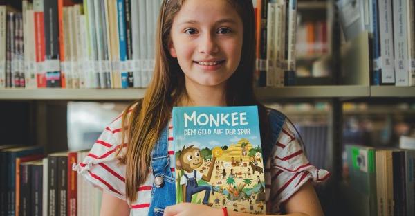 """Crowdfunding: Wimmelbuch """"Monkee. Dem Geld auf der Spur"""""""