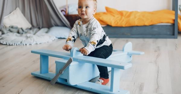 Gesundes Raumklima für Babys und Kinder