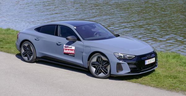 Test: Audi RS e-tron GT - Der E-Gaudi-Audi