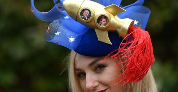Ascot 2021: Die verrücktesten Hüte beim Nobel-Rennen