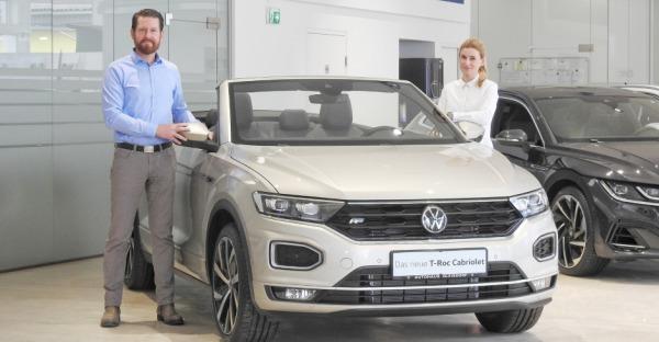 Fahrspaß im T-Roc Cabriolet von Volkswagen