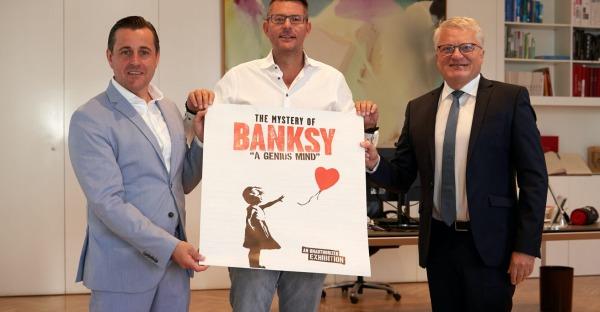 Neue Ausstellung: Banksy kommt im November nach Linz