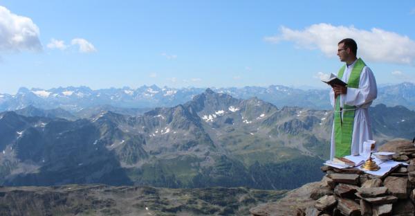 Bergmessen: Man sieht sich am Gipfel!