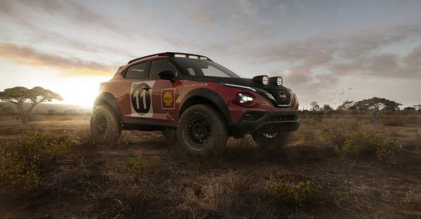 Der Nissan Juke als Rallye Concept - Scharf!