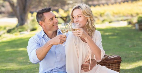 Wiener halten Wein die Treue