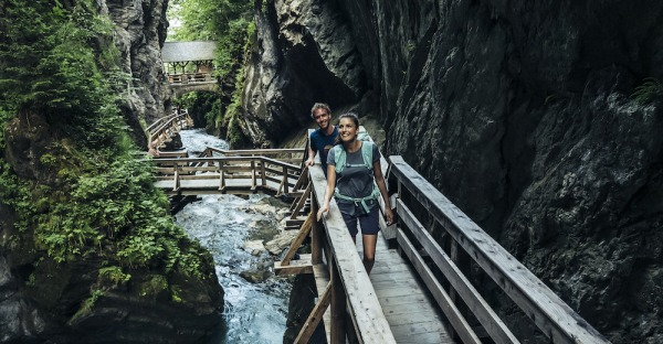 Die schönsten Klammwanderungen in Salzburg