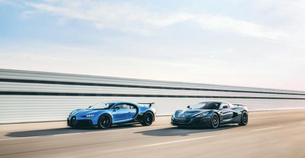 Bugatti und Rimac fusionieren