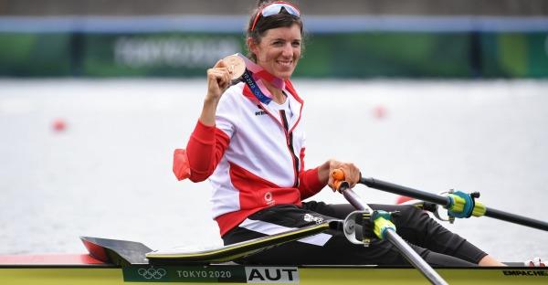 Bravo, Magdalena Lobnig! Olympia-Bronze im Rudern für Österreich