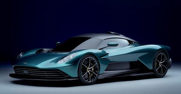 Aston Martin Valhalla - ein Hybrid-Supercar!