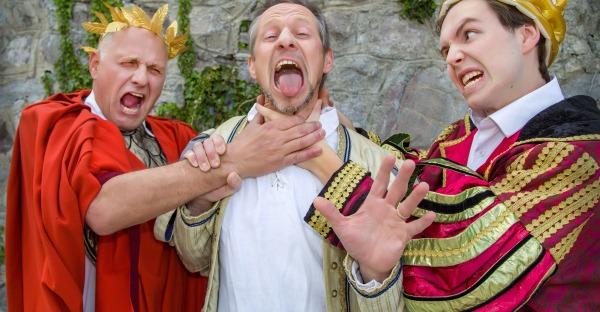 Theaterkritik: Best-of Shakespeare bei den Friesacher Burghofspielen