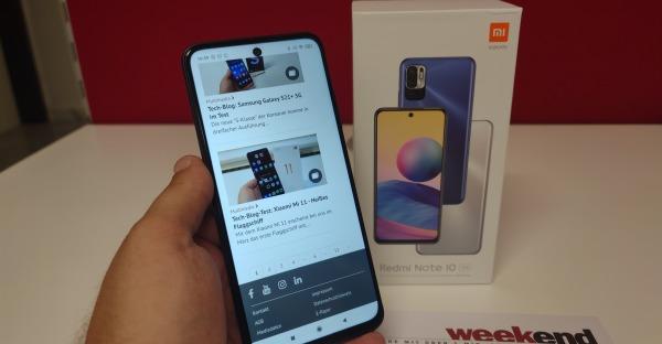 Tech-Blog: Redmi Note 10 5G im Test - 5G für Alle!