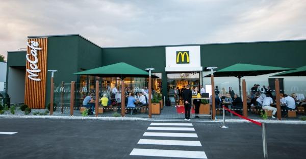 Steyr: Neuer McDonalds eröffnet