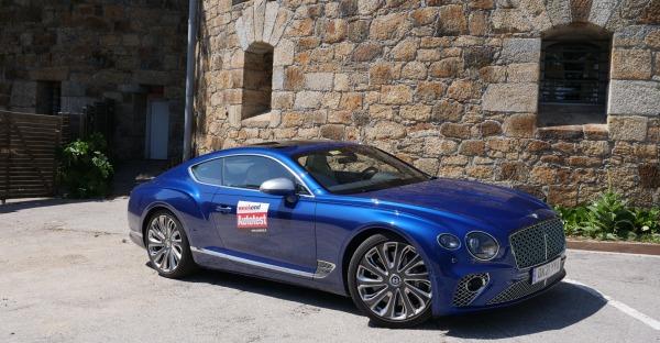 Video: Im Test - Bentley Continental GT V8 Mulliner Modelljahr 2021