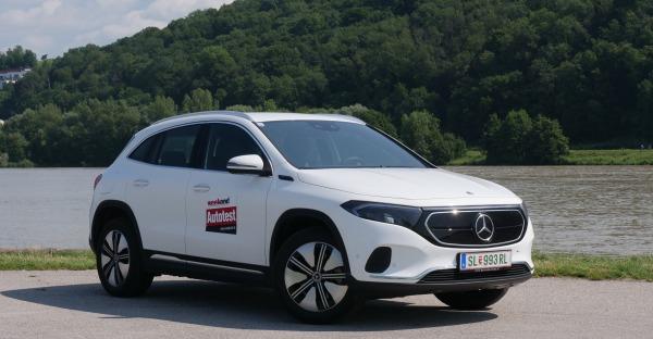 Mercedes-Benz EQA: Kleiner Stromer, ganz groß!