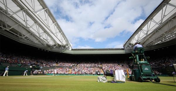 Wimbledon: Volle Zuschauerränge ab dem Viertelfinale
