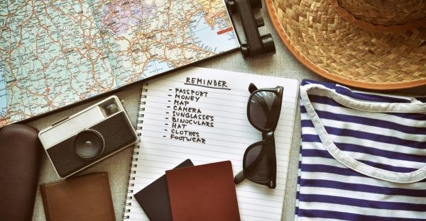"""Die ultimative """"Packliste"""" für jede Reise"""