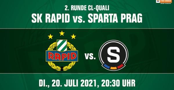 Champions League: Rapid trifft auf Sparta Praha