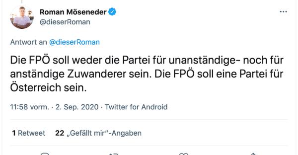 Demo: FPÖ-Möseneder marschiert mit Ultra-Rechten