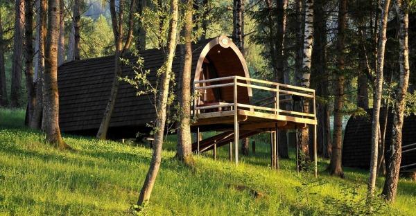 Spektakuläre Ferienhäuser für Abenteuer-Nächte