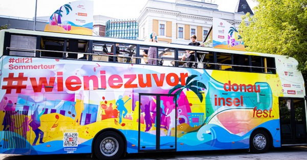 Donauinselfest: Spritzige Party