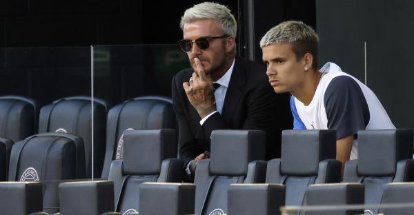 Romeo Beckham: Kick it like Dad