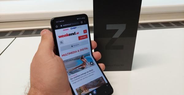 Tech-Blog: Samsung Galaxy Z Flip3 5G im Test