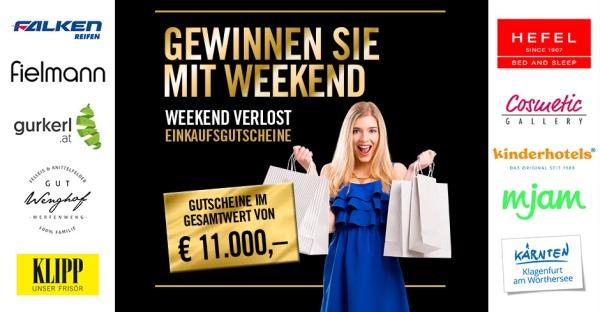 Mega! Gutscheine im Wert von mehr als € 11.000,-