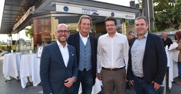 Neuer Treffpunkt: Glashaus #zum See in Bregenz