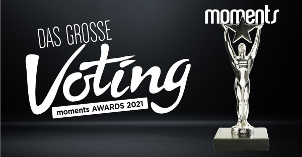 Das große Voting für den Moments-Award 2021