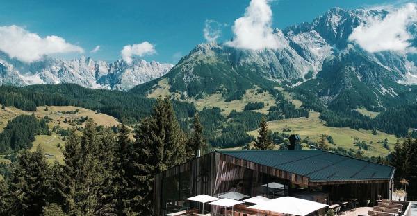 Salzburg: Frühstück am Berg