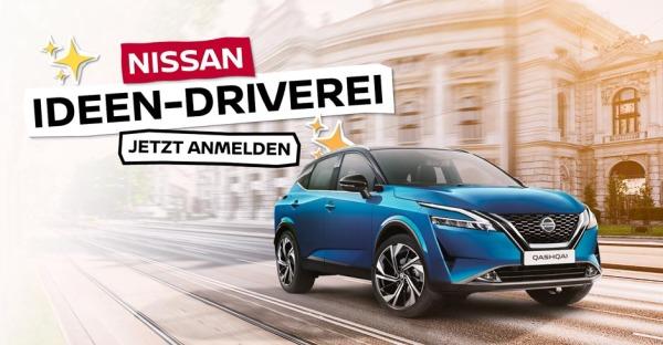 Die NISSAN Ideen-Driverei