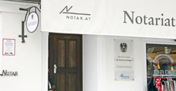 Der Notar - Horst Aichinger